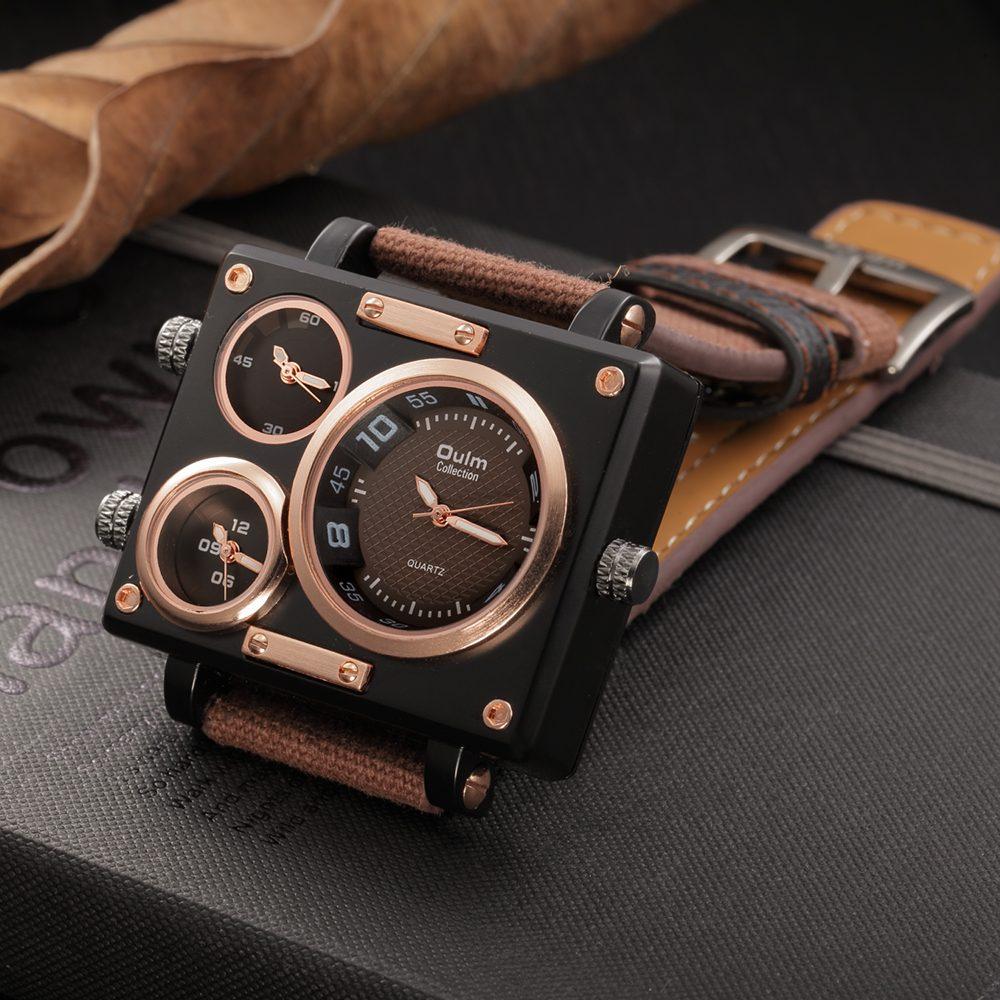KINSTON -  Retro Mens Wrist Watch   Dukesman.com
