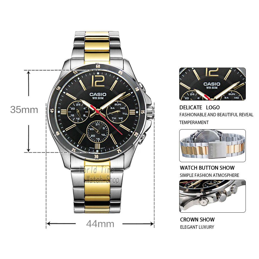 Casio watch men sports waterproof quartz luminous watch MTP-1374D-7A MTP-1374L-7A MTP-1374SG-1A MTP-1374SG-7A MTP-1374D-1A | Dukesman.com