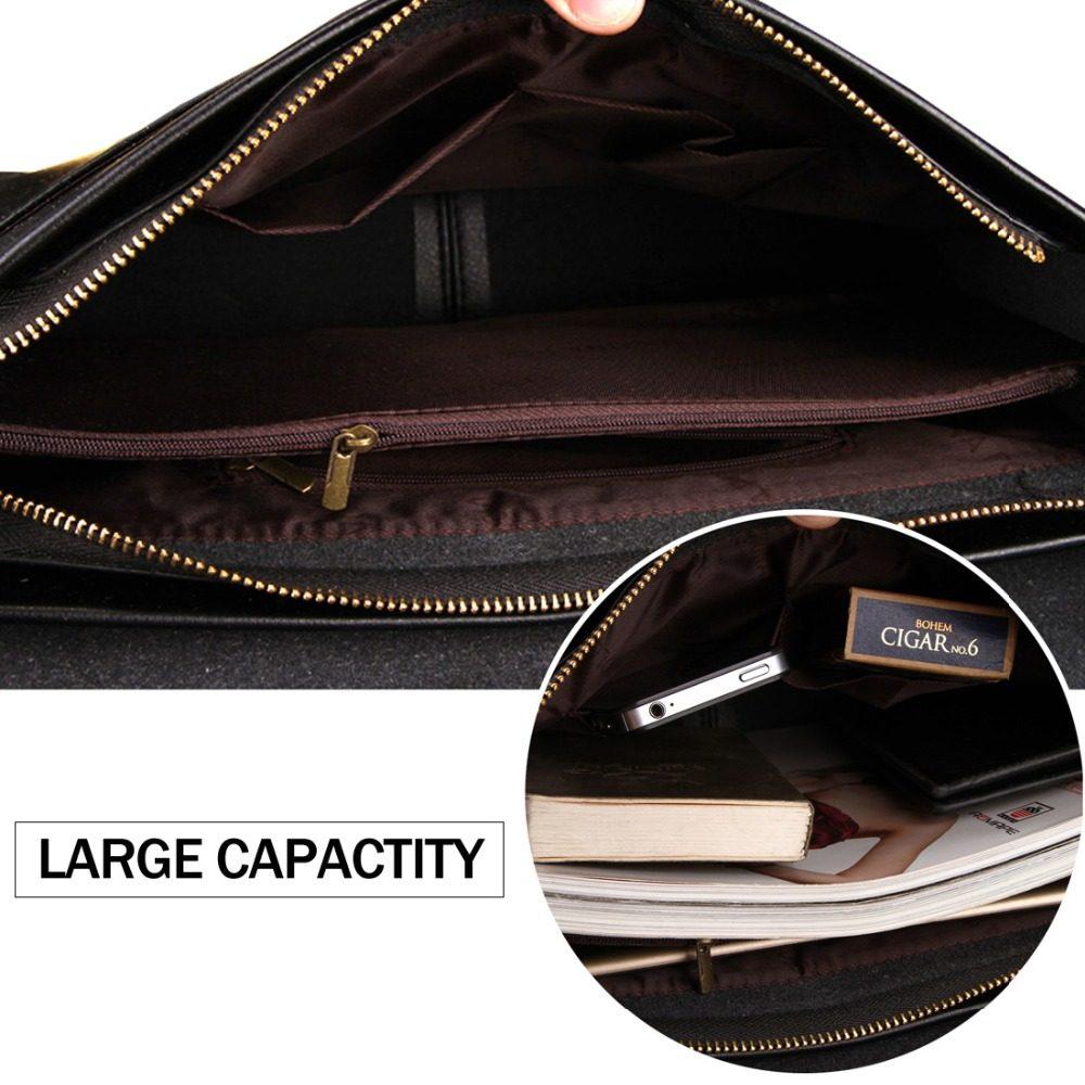 VICUNA POLO Famous Brand Leather Men Bag Casual Business Leather Mens Messenger Bag Vintage Men's Crossbody Bag bolsas male | Dukesman.com