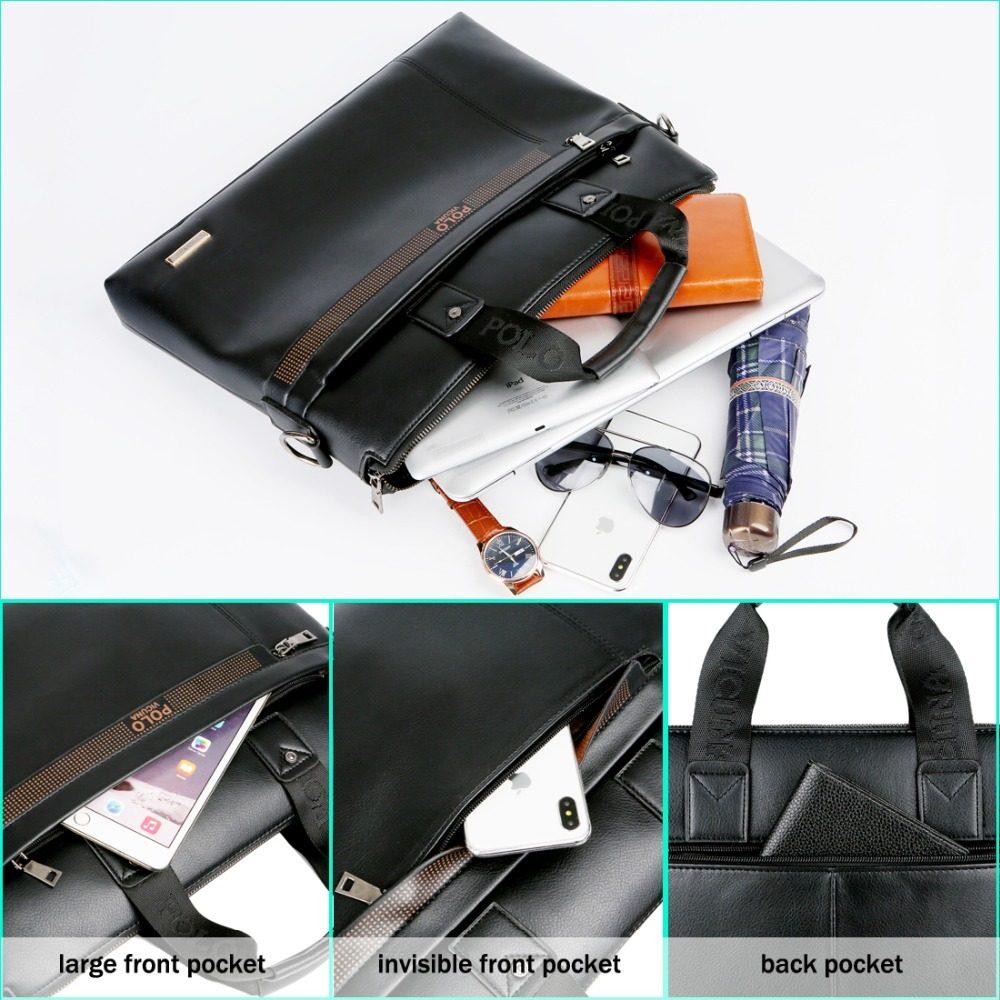 POLO Vicuna Mens Leather Briefcase | Dukesman.com