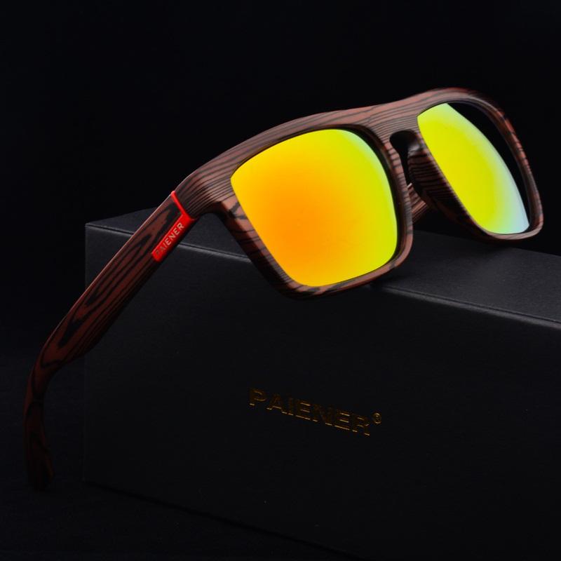 Retro Imitation Bamboo Wood Sunglasses Men Women Brand Designer Sport Goggles Gold Mirror Sun Glasses Shades lunette oculo   Dukesman.com