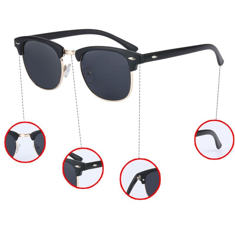 UV400 HD Polarized men women Sunglasses Classic fashion retro Brand Sun glasses Coating Drive Shades gafas De Sol Masculino   Dukesman.com