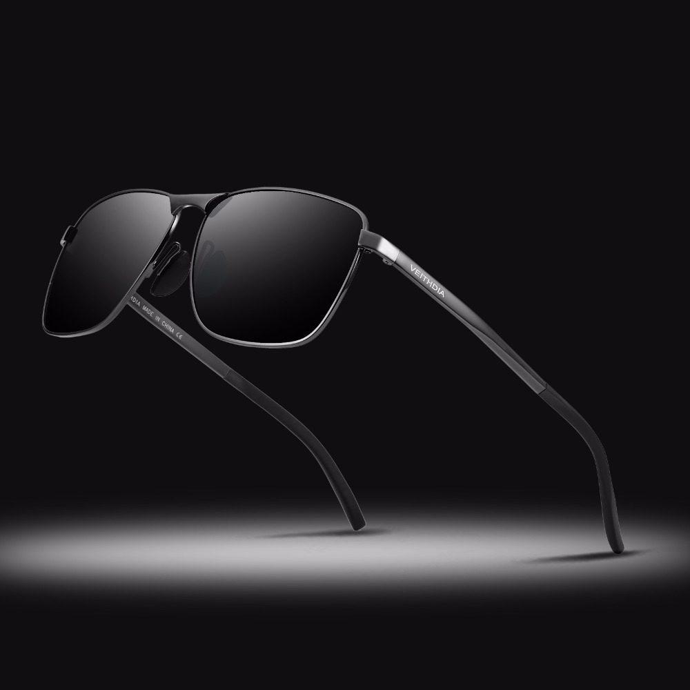 Veithdia Men's Vintage Polarized Square Sunglasses (4 Colors)   Dukesman.com