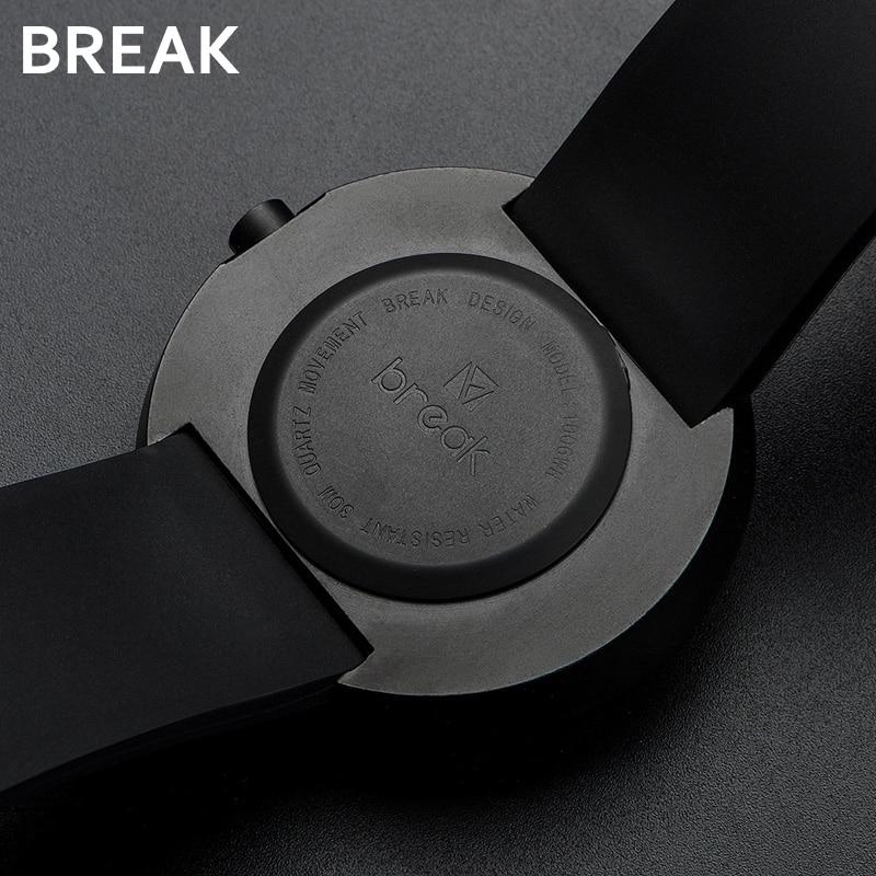 BREAK - Black Minimalist Mens Sports Watch | Dukesman.com