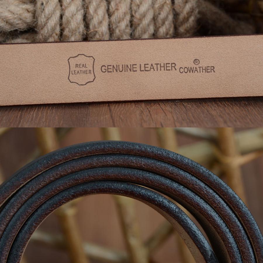 Men's Cow Genuine Leather Belt   Dukesman.com