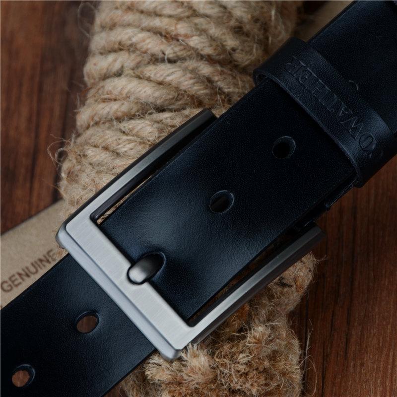 Men's Cow Genuine Leather Belt | Dukesman.com
