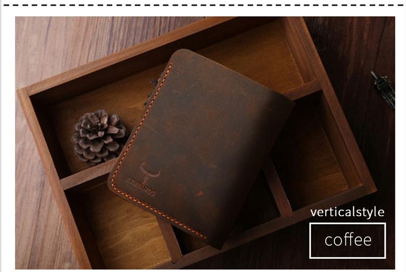 BANTER - Minimal Casual Leather Wallet for Men | Dukesman.com