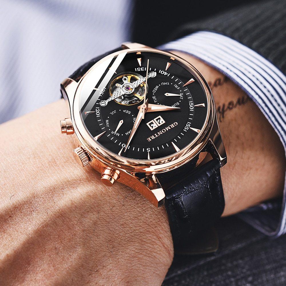 Automatic Mechanical Watch for Gentlemen : dukesman