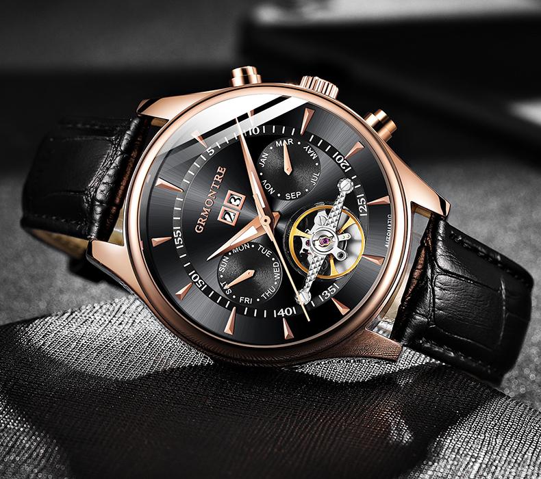 Quantum - Automatic Mechanical Watch for Gentlemen | Dukesman.com