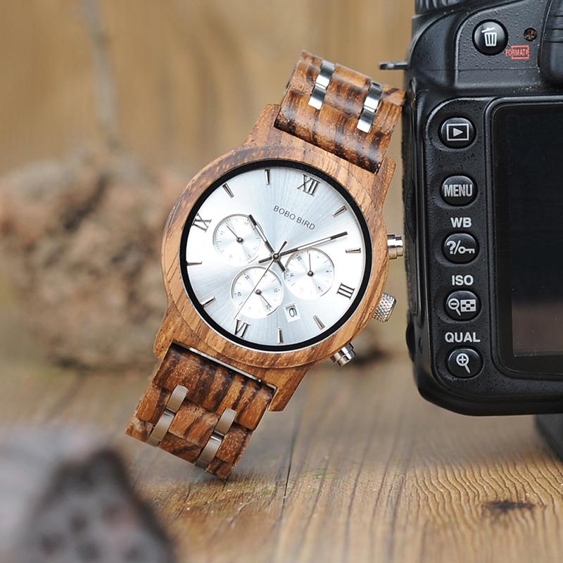 Lumberjack - Wooden Wrist Watch for Men | Dukesman.com