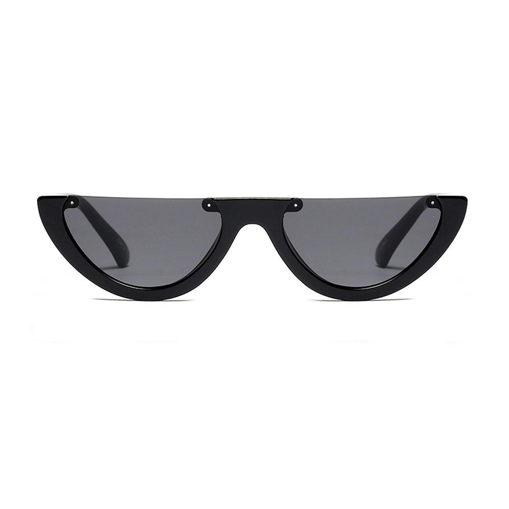 DE VILLE -  Cat Eye Half Frame Sunglasses | Dukesman.com