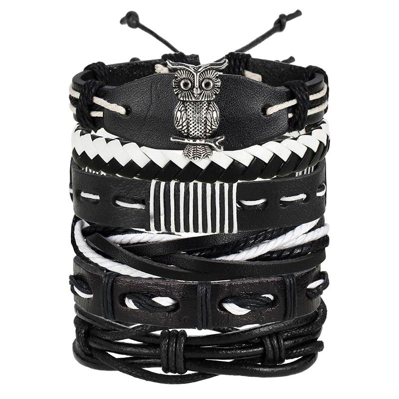 Vintage Multilayer Leather Bracelet for Men | Dukesman.com