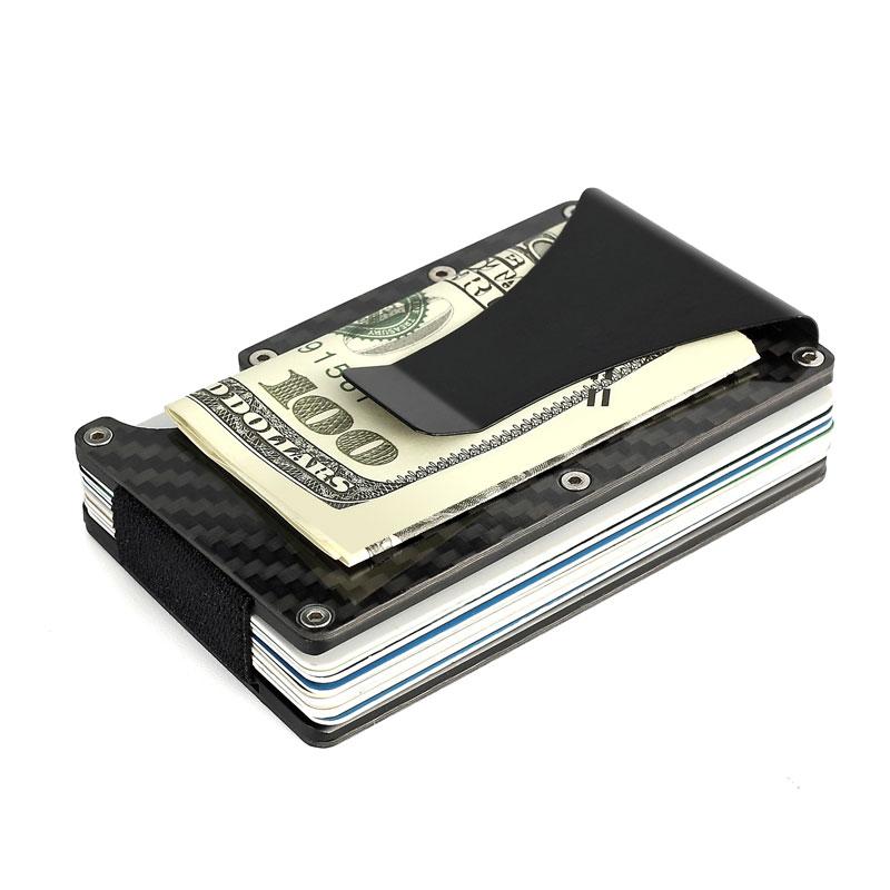 CARBON - Men's Carbon Fibre Wallet Clip | Dukesman.com