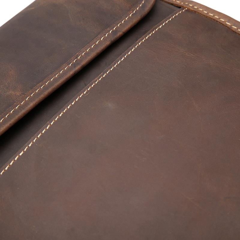 REGUS - Vintage Leather Shoulder Bag for Men   Dukesman.com