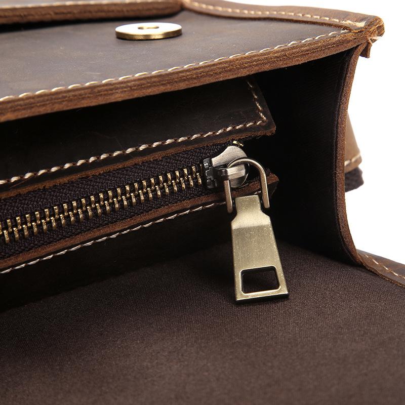 REGUS - Vintage Leather Shoulder Bag for Men | Dukesman.com