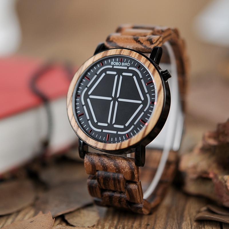 Wooden Digital Wristwatches for Men - Dukesman