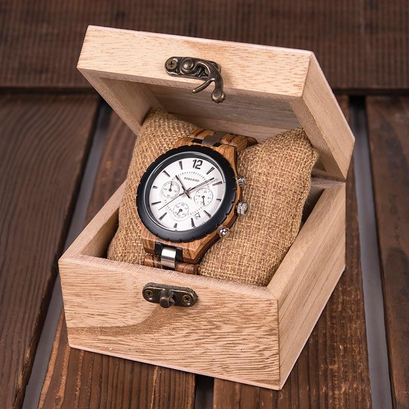 BIRD - Wooden Luxury Wrist Watch for Men | Dukesman.com