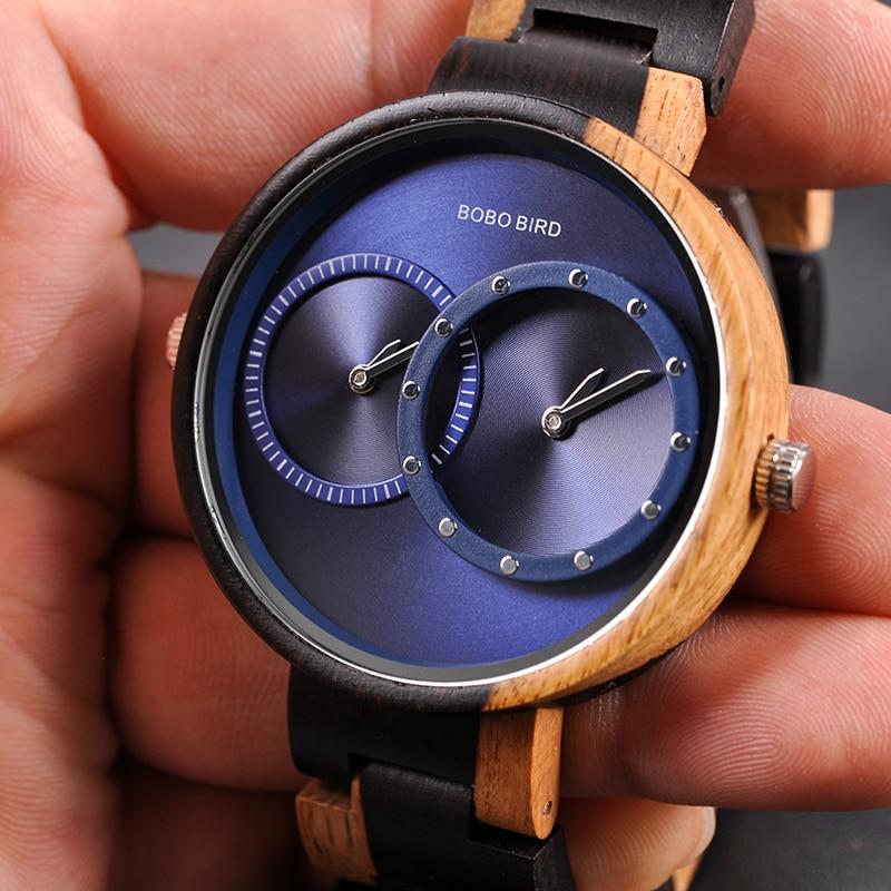 SKALI - Ultra Thin Mens Watch Original Wood Watches   Dukesman.com