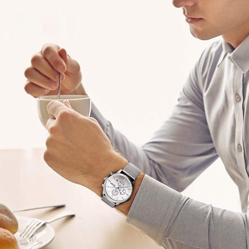 PEARL - Classic Stainless Steel Quartz Wrist Watch for Men | Dukesman.com