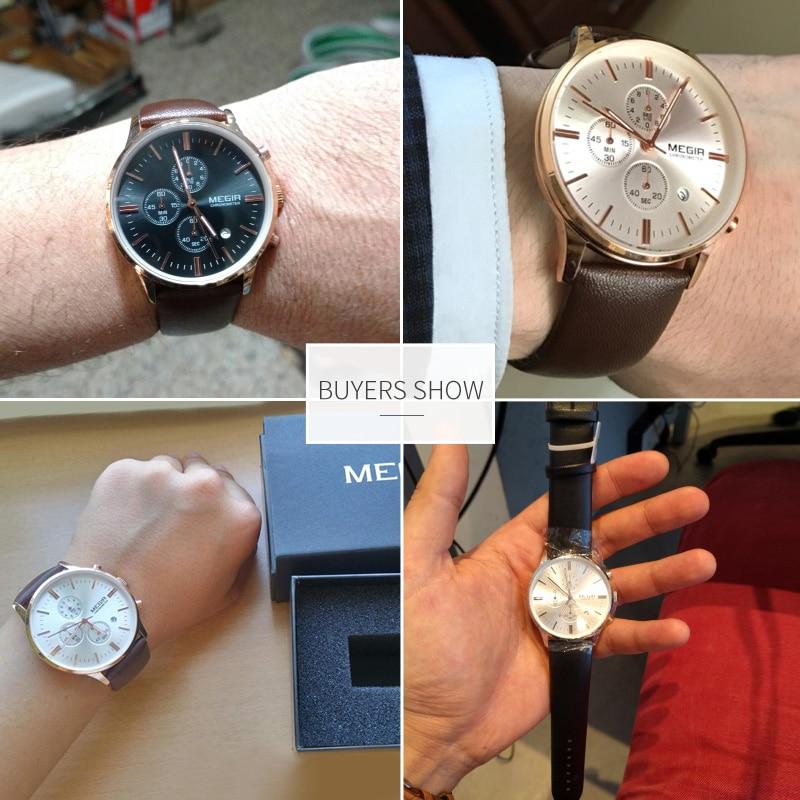 MONDO -  Men's Classic Wrist Watch with Leather and Quartz | Dukesman.com