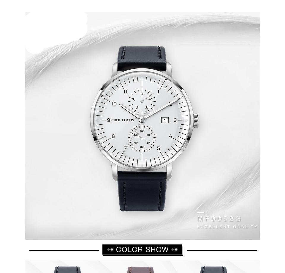 OCULAR - Classic Quartz Waterproof Wrist Watches