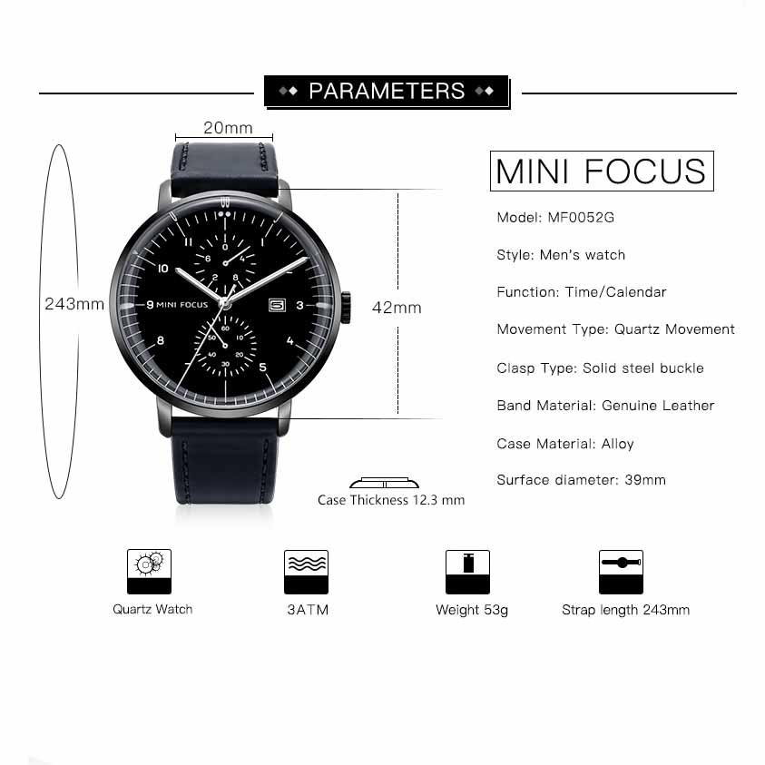 OCULAR - Classic Quartz Waterproof Wrist Watches | Dukesman.com